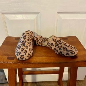Joan Boyce Fabric Slip On Size 7